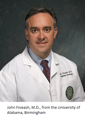 John Fiveash, M.D., from the University of Alabama, Birmingham