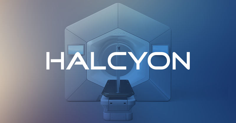 Front view of the Halcyon system