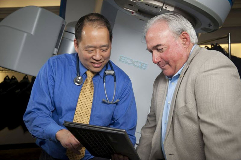 Juno Choe, M.D., Ph.D., treating radiation oncologist at Tri-Cities.