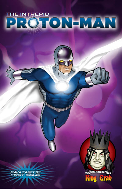 Proton Man, Issue 1 cover