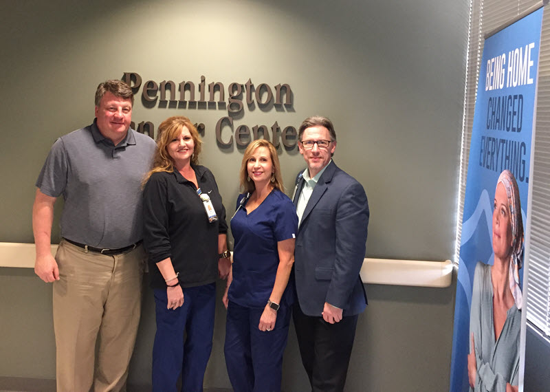 Radiation Oncology team at Baton Rouge General